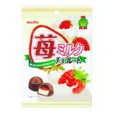 日本MEITO 草莓牛奶巧克力 53g