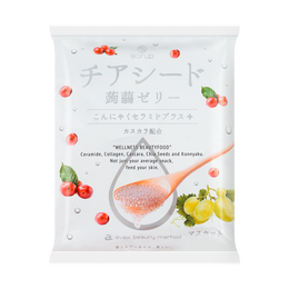 WAKASHOU Chia Seed Jelly Grape Flavor 204g