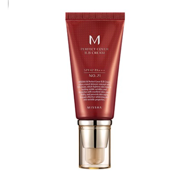Product Detail - MISHHA M Perfect Cover BB Cream SPF 42 PA+++(50ml) No.21 - image 0