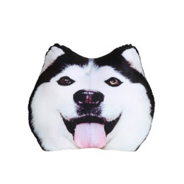 Petorama 大脸哈士奇造型枕头