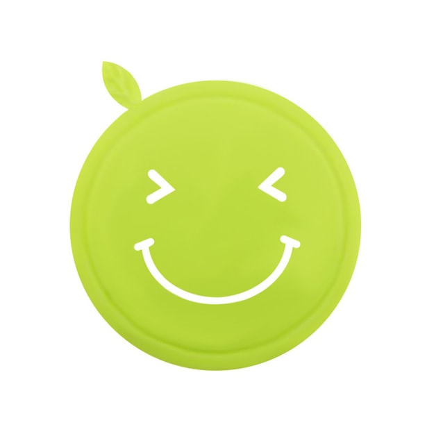 Product Detail - MORACC Smile Silicon Coaster #green - image 0