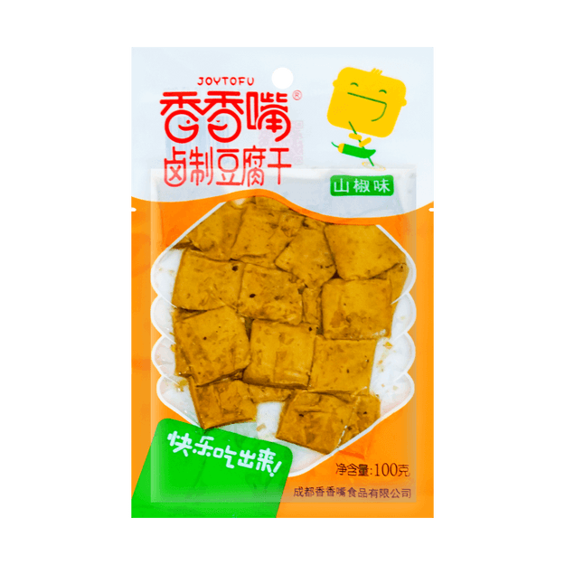 Product Detail - JOYTOFU Dried Bean Curd Chili Flavor 100g - image 0