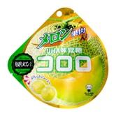 【日本直邮】UHA悠哈味觉糖 全天然果汁软糖 秋季限定哈密瓜口味 40g