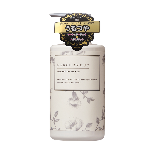 商品详情 - 日本MERCURYDUO 植物氨基酸网红洗发水 修护款 高级香氛 小红书爆款 480ml - image  0