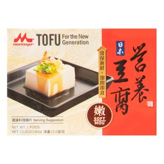 日本MORINAGA森永 营养嫩豆腐 340g