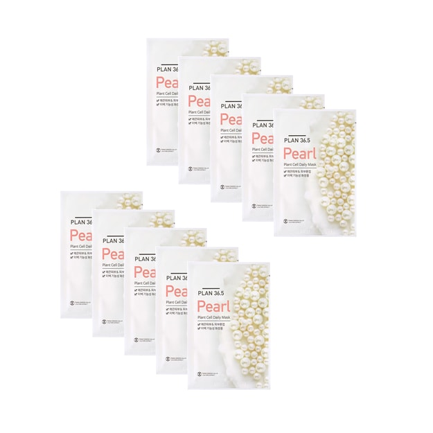 Product Detail - PLAN36.5 Pearl Plant Cell Daily Mask 10pcs - image 0