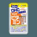 DHC 蝶翠诗  多种维生素软胶囊  30天份 30粒