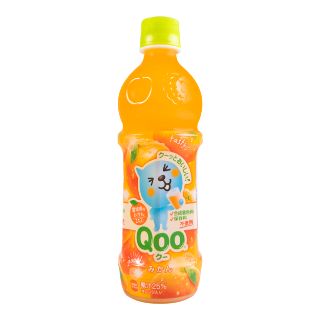 商品详情 - 美汁源 酷儿 橙汁饮料 470g - image  0
