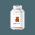 澳洲Unichi 玫瑰高纯度高浓度胶原蛋白无糖小熊软糖 60粒 每粒含500mg胶原蛋白 赵露思同款 建议搭配Unichi玫瑰果精华胶囊