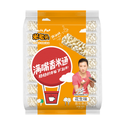 MILAOTOU Rice Stick Peanut Flavor 400g(Random new and old packaging)
