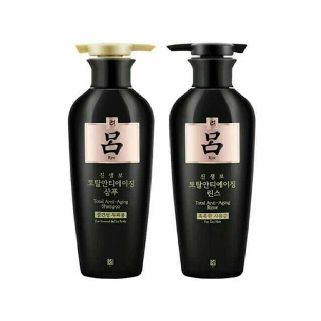 Product Detail - RYO Total Anti-Aging Shampoo 400ml + Conditioner 400ml Set 2pcs - image 0