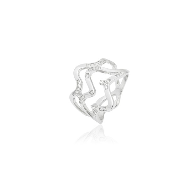 ARSIS Star Ocean Wavy Ring 1 piece