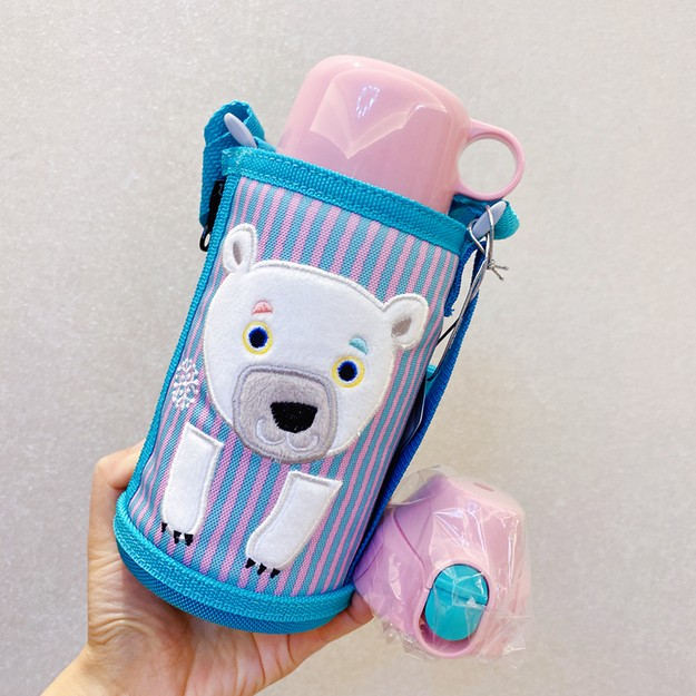 Product Detail - TIGER Water Bottle Icebear Bottle# MBR-C06G PS600ml - image 0