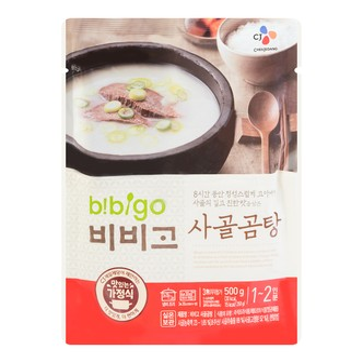 韩国CJ希杰 高级牛骨浓汤 500g