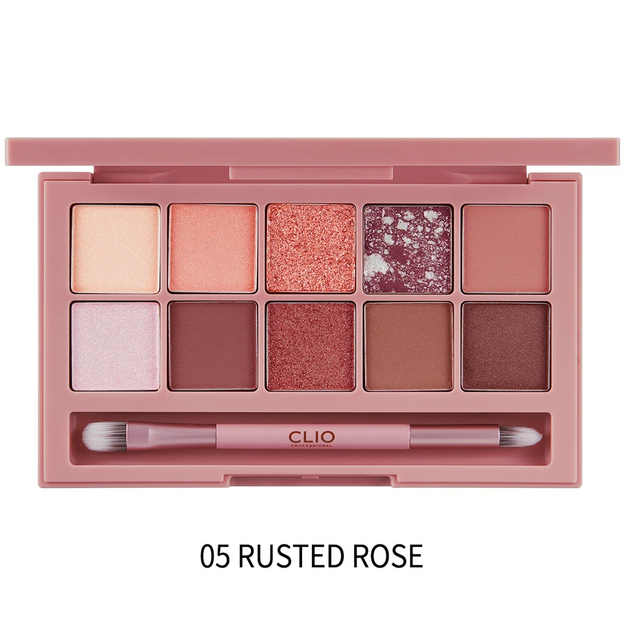 Product Detail - CLUB CLIO Pro Eye Palette #5 Rusted Rose - image 0
