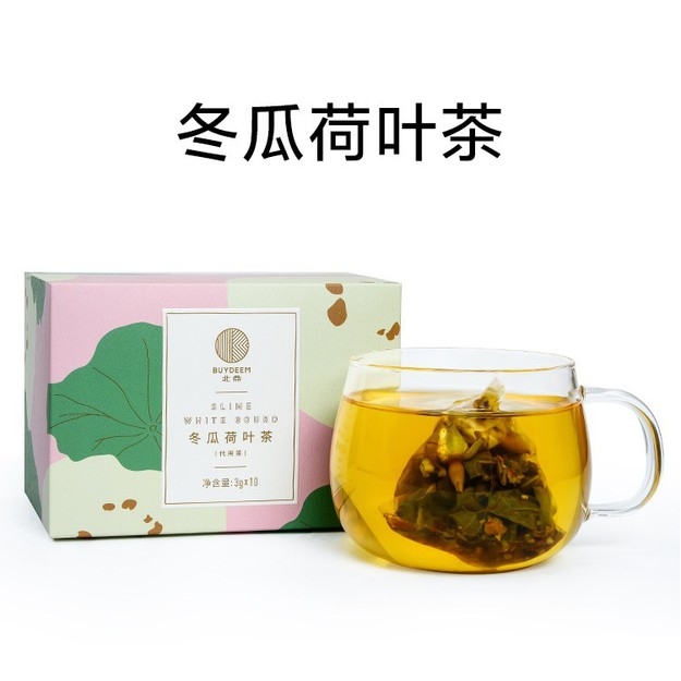 BUYDEEM Lotus leaf and dry winter melon Tea 10 bags