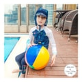 MODELAMI Toddler Kid Boy Robot Flap Sun Protection Hat #Navy XL(6-10years)