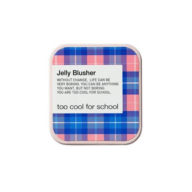 商品详情 - 韩国TOO COOL FOR SCHOOL 涂酷 果冻腮红膏 丝滑滋润高潮代替色 NO.1 草莓泡芙(婴儿粉) 8g - image  0