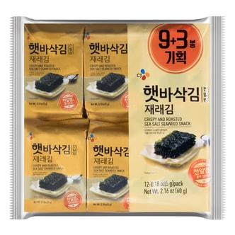 韩国CJ希杰 焦脆海苔 韩国CJ希杰 12包