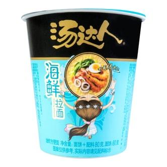台湾统一 汤达人 海鲜拉面 杯装 80g