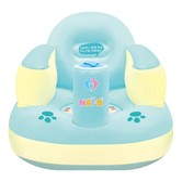 韩国NAI-B 婴儿宝宝充气小沙发 薄荷绿 內附打气棒 (适用年龄 7-24个月)
