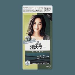 【人气新色】日本KAO花王 LIESE PRETTIA 泡沫染发剂 #森林卡其色 单组入