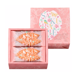 GINZA SILVER GRAPE Spring Festival Sakura Pie 12pc