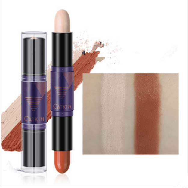 Product Detail - CATKIN shading stick dual-use high-light beginner profile brightening shading shadow nose shadow concealer repenting pen - image 0