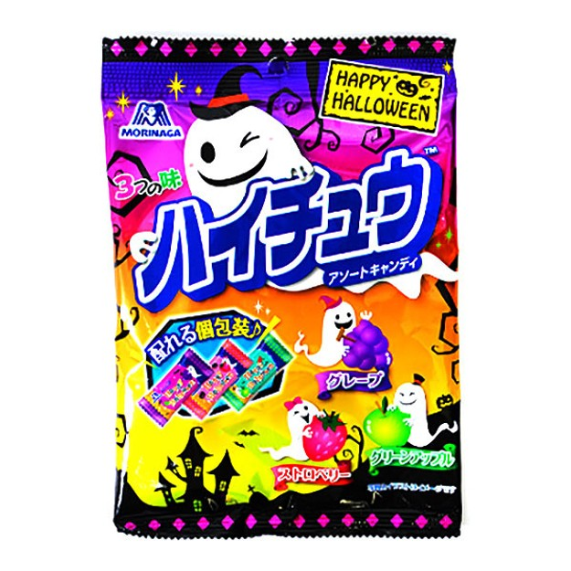商品详情 - 【日本直邮】日本 MORINAGA 森永 HI-CHEW 2021年万圣节限定 小包装 超浓3种水果味软糖 86g - image  0