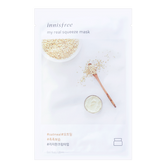INNISFREE My real squeeze mask oatmeal 1sheet