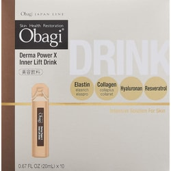 OBAGI Derma Power X Inner Lift Drink 20mlx10bottles Rohto J