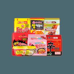 韩国速食大礼包 8款热销韩式美味