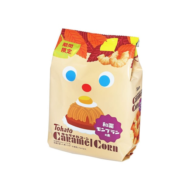 Product Detail - TOHATO Caramel Corn Marrow 77g - image 0