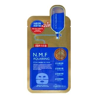 韩国MEDIHEAL美迪惠尔(可莱丝) N.M.F水库水润保湿凝胶面膜 金装升级版 单片入