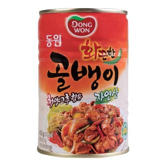 韩国DONG WON 辣味螺罐头 400g