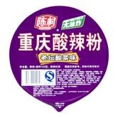 陈村 非油炸重庆酸辣粉 老坛酸菜味 桶装 100g