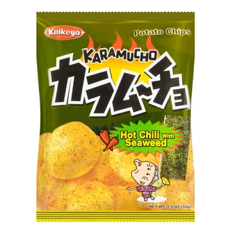 KOIKEYA Spicy Seaweed Chips 57g