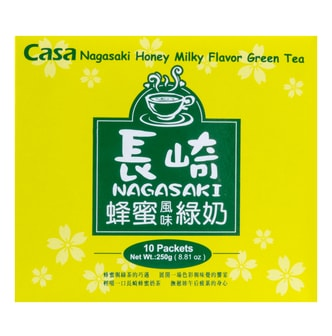 CASA Honey Milk Tea 10pcs