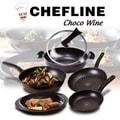 韩国GANGNAM SHOP Chefline Chocowine钻石不粘锅 6件套