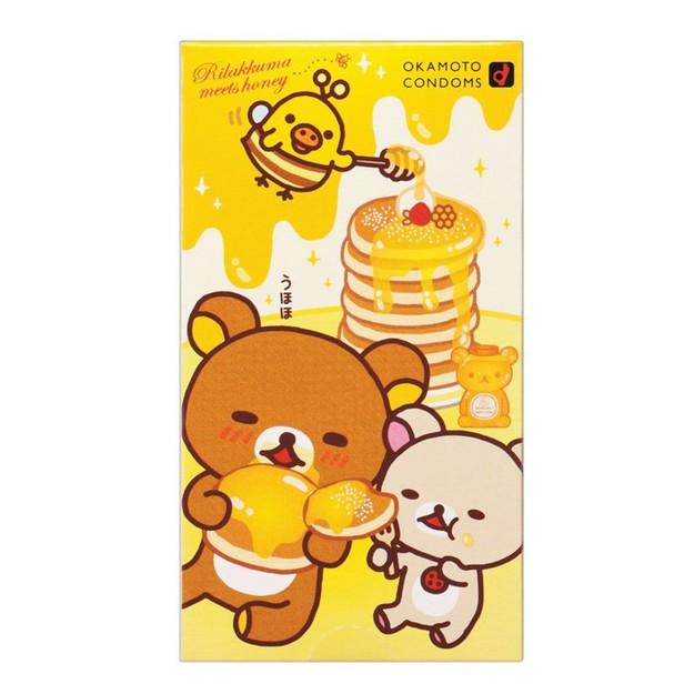 Product Detail - OKAMOTO Rilakuma Condoms 10pcs - image 0