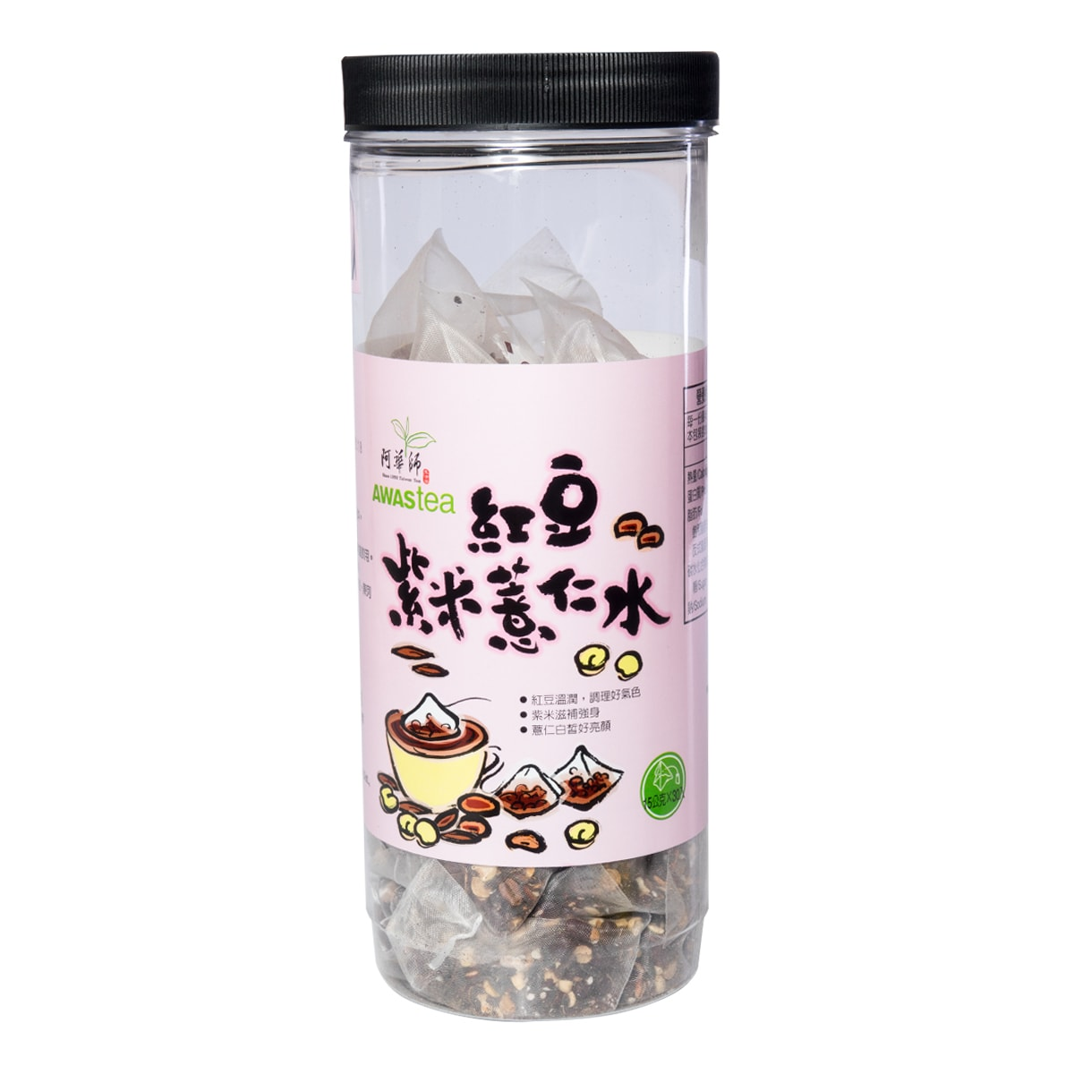 Yamibuy.com:Customer reviews:AWASTEA Ed Bean Purple Rice Barley Tea 15g x 30 bags