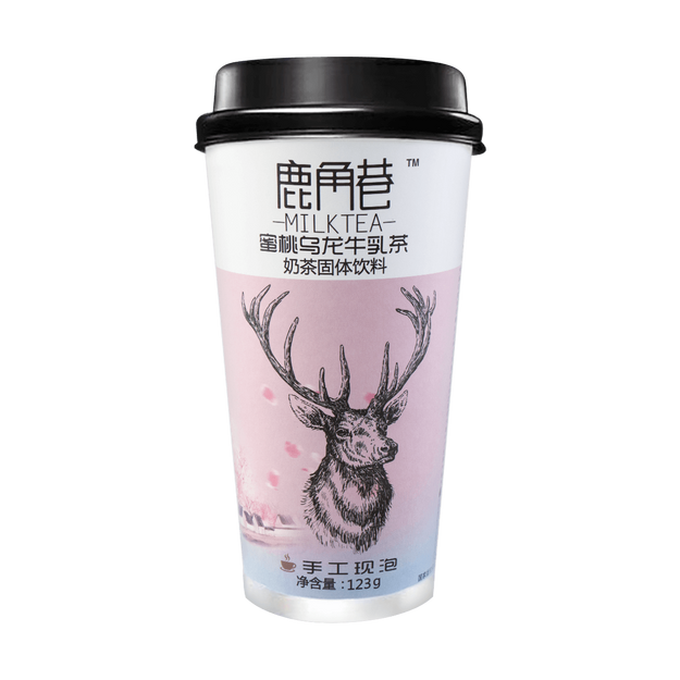 Product Detail - LUJIAOXIANG Peach Oolong Milk Tea 123g - image 0