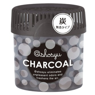 日本KOKUBO小久保 SHOSYU空气清新消臭圆 碳元素 150g