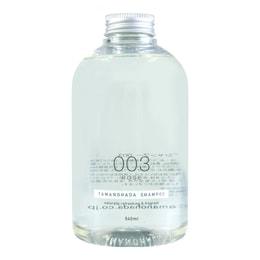 日本TAMANOHADA玉肌 无硅油洗发水 #003玫瑰香 540ml  (另售专用按压泵头)