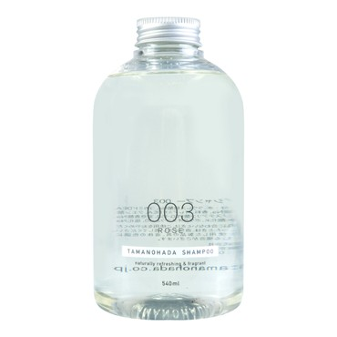 TAMANOHADA Shampoo Naturally Refreshing & Fragrant #003 Rose 540ml