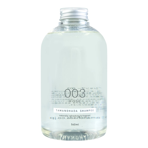 Product Detail - TAMANOHADA Shampoo Naturally Refreshing & Fragrant #003 Rose 540ml - image 0