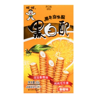 WANT WANT Biscuit Roll Orange Flavor 60g