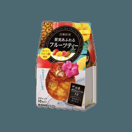 【缤纷夏日】日本NITTO日东 热带水果茶 10条入