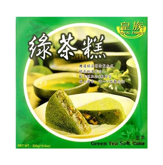 ROYAL FAMILY Green Tea Soft Cake Mochi 300g