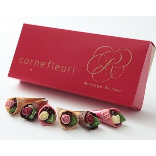 MESSAGE DE ROSE Chocolates Egg Roll 6pc